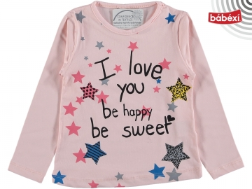 Be Happy Baskılı Bady 3Y,4Y,5Y,6Y