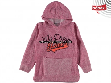ŞARDONLU PİNK MY DREAM NAKIŞLI SWEAT