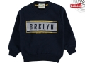ÜÇ İP BROKLYN BASKILI SWEAT 5/8 YAŞ